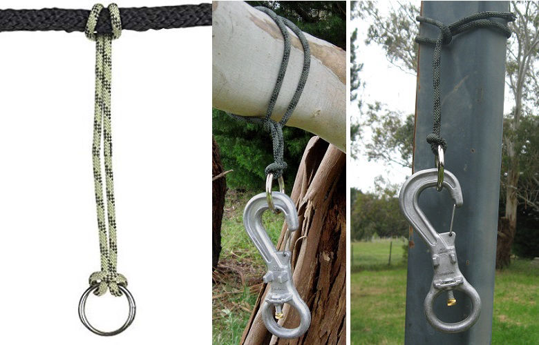 The Safe Clip - Tether Ring