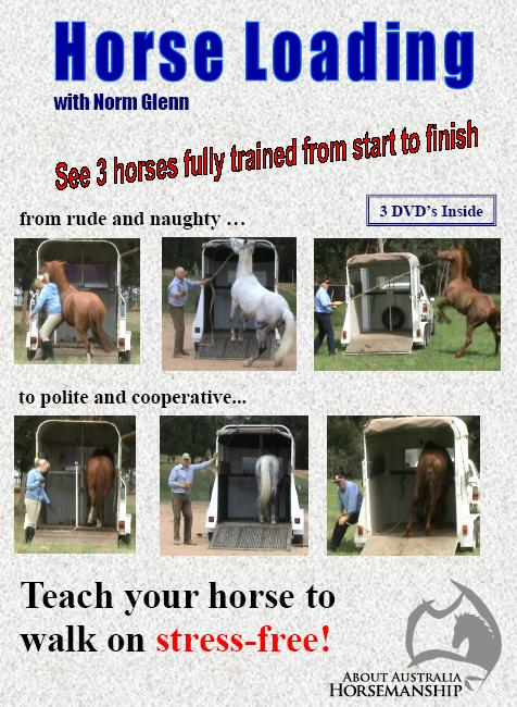 horse float loading DVD