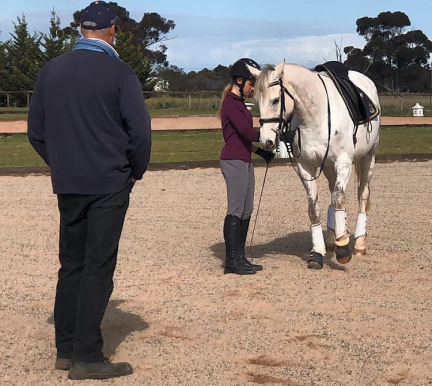 Ground work exercises with About Australia Horsemanship